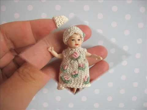 Tiny Clothes for miniature Heidi OTT Baby dolls by Mam-m-mi