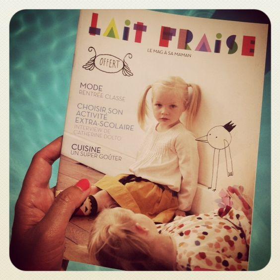 """""""Lait Fraise"""" Le Mag ! Des tonnes d'idées  et diy !!"""
