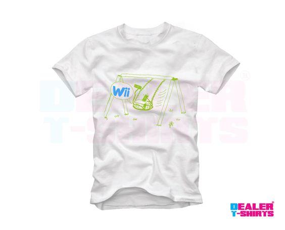 Nintendo Wii 3 Dealer t-shirts
