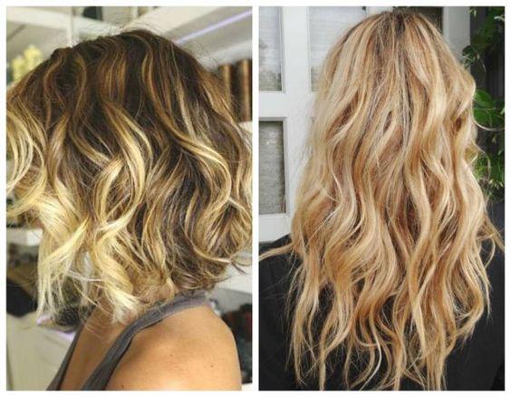 effet wavy spray texturisant #coiffure #cheveux #monvanityideal #wavy #balayage