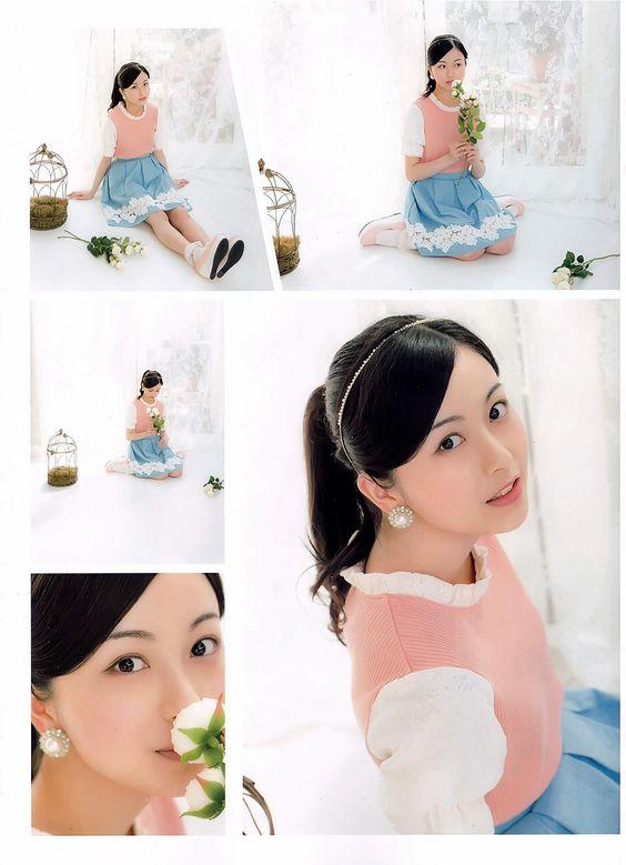 パステル衣装の佐々木琴子