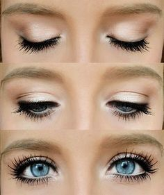 Simple make up for school .