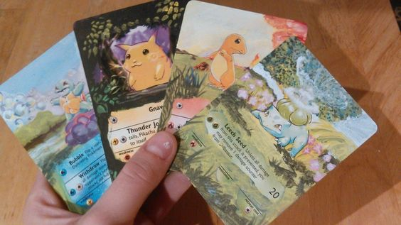 This college student turns Pokémon cards into handpainted art