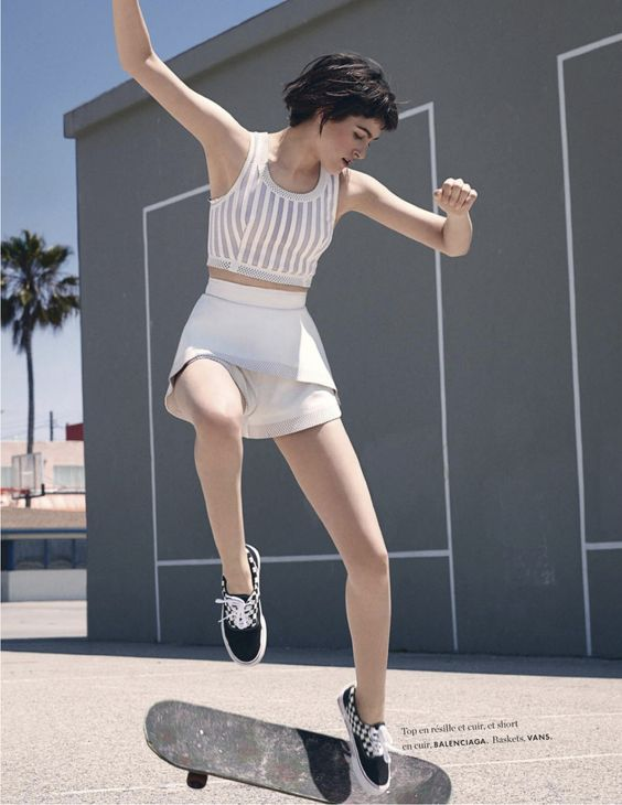 visual optimism; fashion editorials, shows, campaigns  more!: mouvement de mode: athena wilson by takay for elle france 23rd may 2014