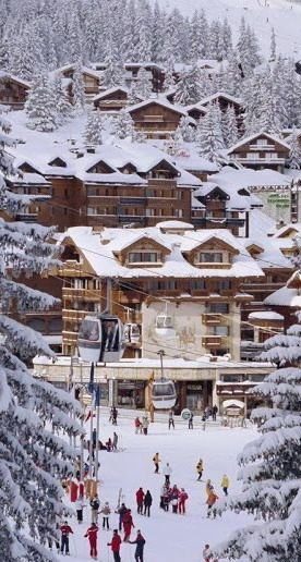 Winter at Courchevel Ski Resort ~ France