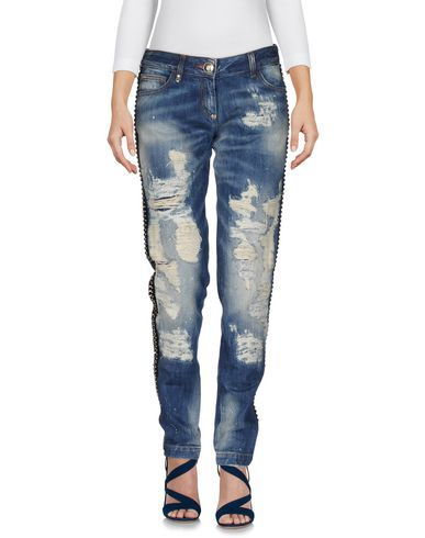 PHILIPP PLEIN Denim pants. #philippplein #cloth #dress #top #skirt #pant #coat #jacket #jecket #beachwear #