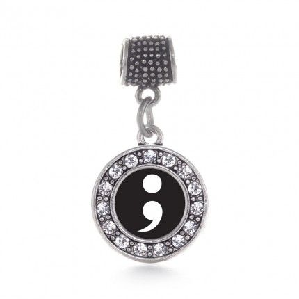 Semicolon Movement Circle Memory Charm