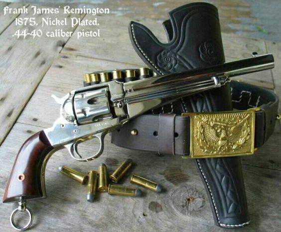 Frank James' Remington