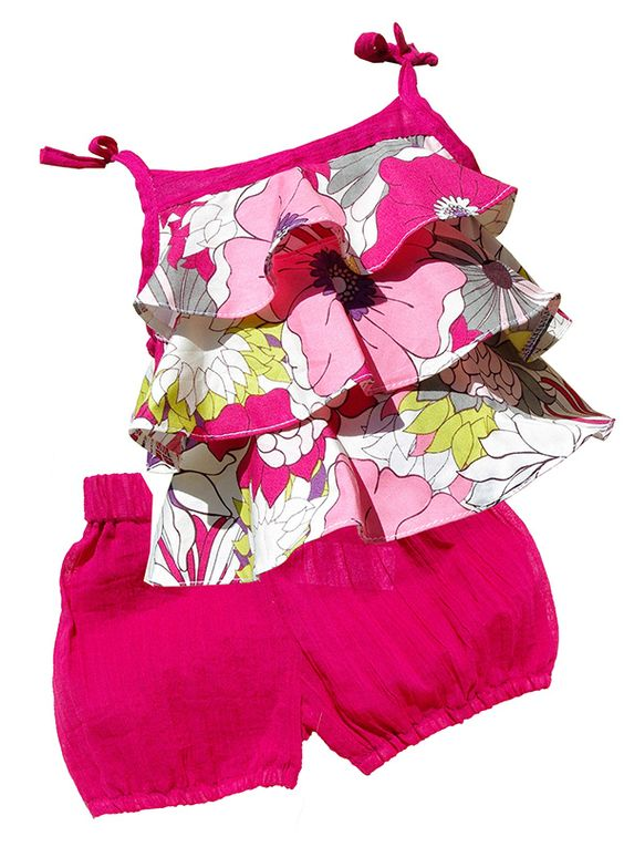 Pink Carmel Set, Top & Bloomer.   Carmel Collection   www.jospehinebono.com