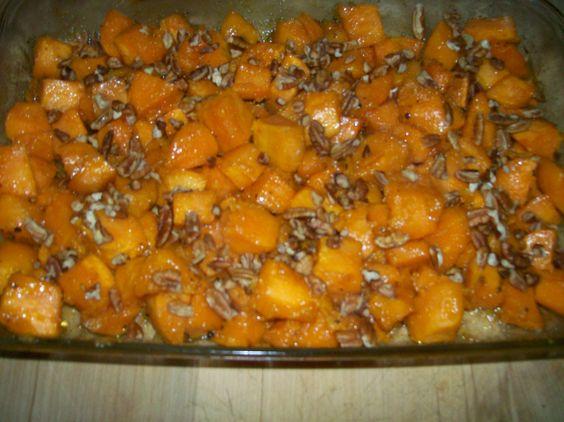 Roasted Sea Salt & Maple Sweet Potatoes 7 - 8 Large Yams, peeled and ...