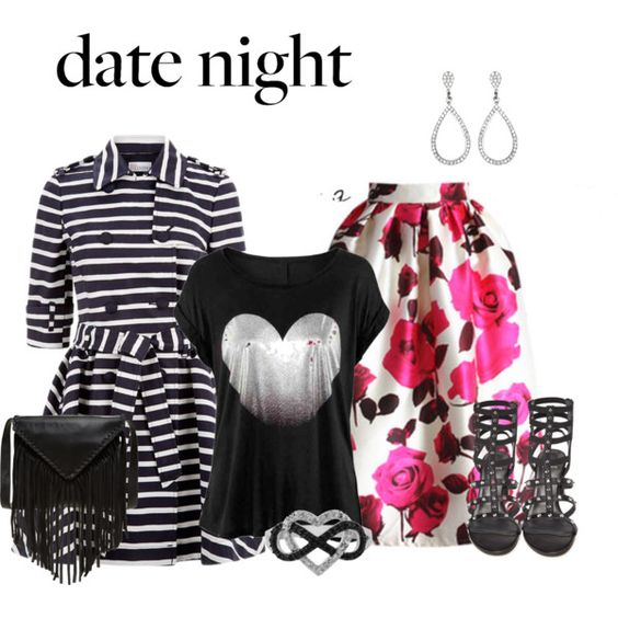 Date Night by lchar on Polyvore featuring moda, RED Valentino, Stuart Weitzman, J.J. Winters and Jewel Exclusive