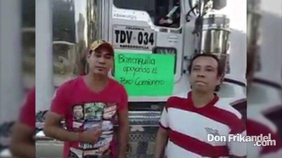 Paro camionero, una realidad que el gobierno y los medios quieren esconder