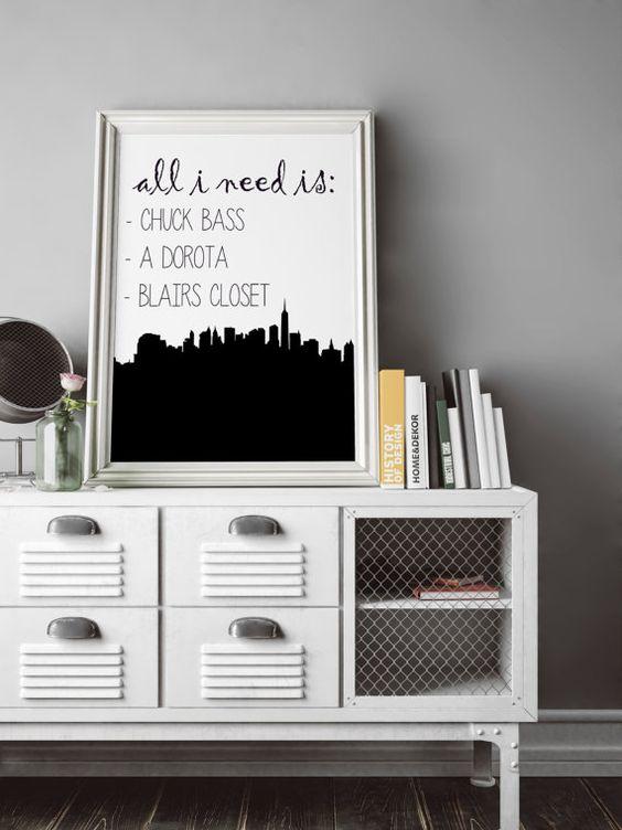Gossip Girl Blair Waldorf Chuck Bass All I Need by MthDigitals