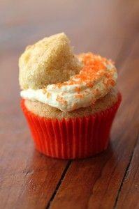 Kelly's Bake Shoppe - Seasonal favourite Dreamsicle Cupcake  www.kellysxo.com