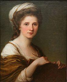 Self Portrait, 1784 - Angelika Kauffmann