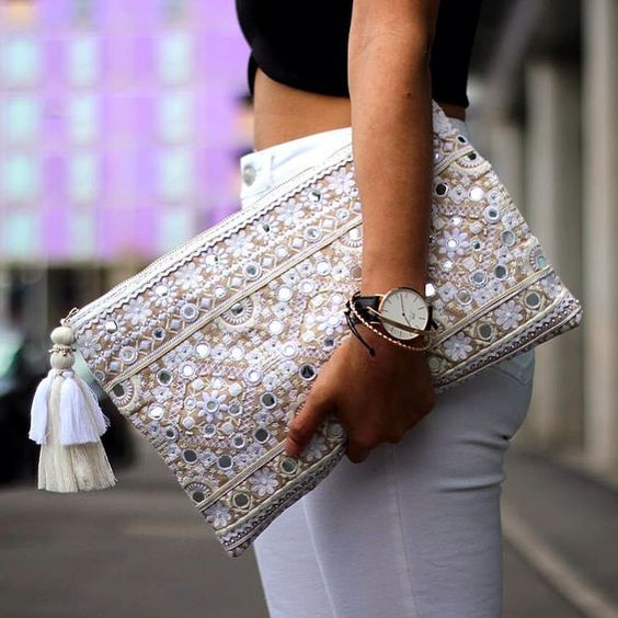 We love how Sindy of @article21 has styled her Eva Mirror Clutch bag. Product Code: 78922804, and it's on sale! #AccessorizeSale