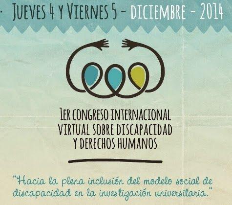 1º Congreso Internacional virtual sobre Discapacidad y Derechos Humanos. ~ APADIM Córdoba