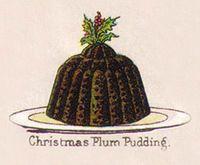 [christmas pudding]