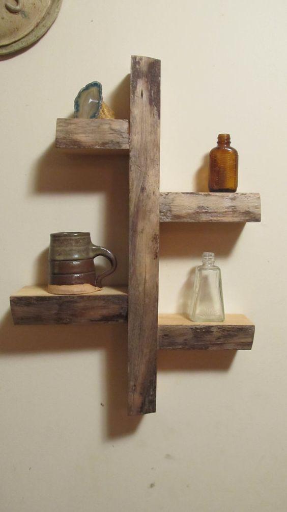 Shelves Wall Shelves And Woods On Pinterest