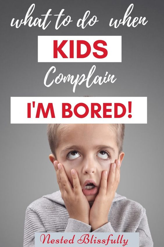 What to do when your child says I'm Bored — Nested Blissfully