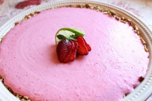 Strawberry Margarita Pie Recipe