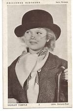 actress SHIRLEY TEMPLE 1930s original vintage photo postcard rare!