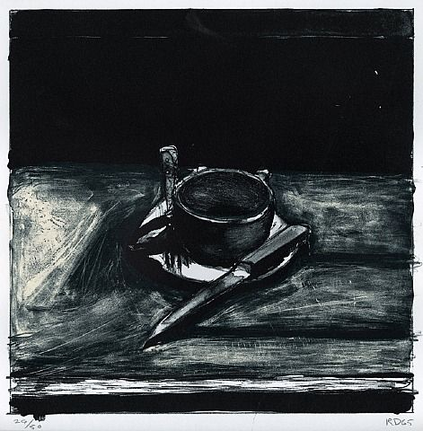 "Richard Diebenkorn ""Cup, Saucer, Fork, and Knife"". 1965"