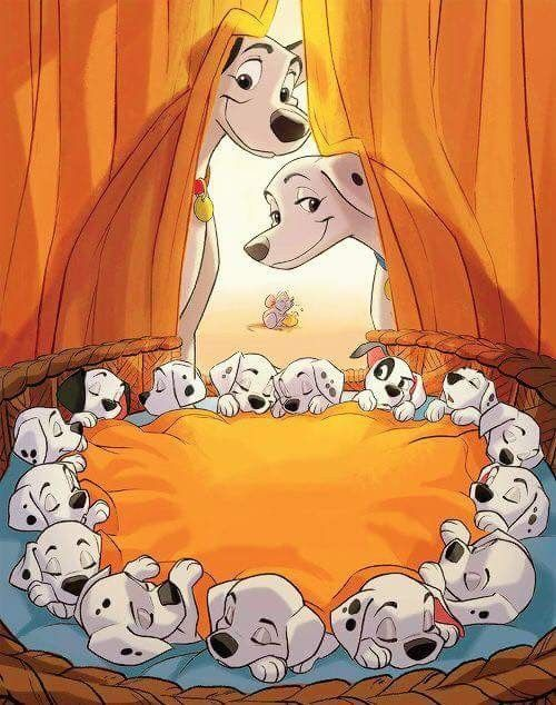 ポンゴとパーディタと15匹の子犬たち