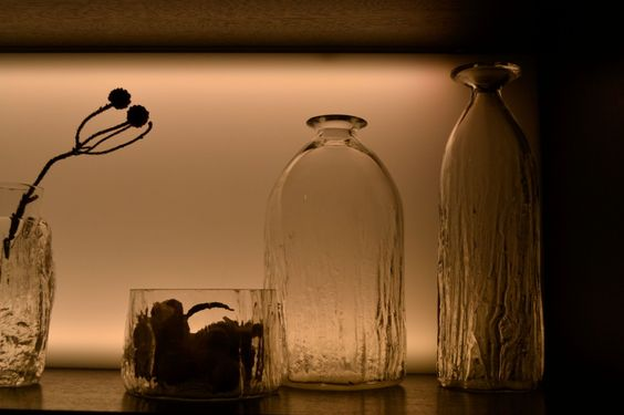 10 tips on creating a #Scandinavian style interior - vases at Mjolk in Toronto