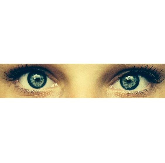 My daughter's beautiful eyes!