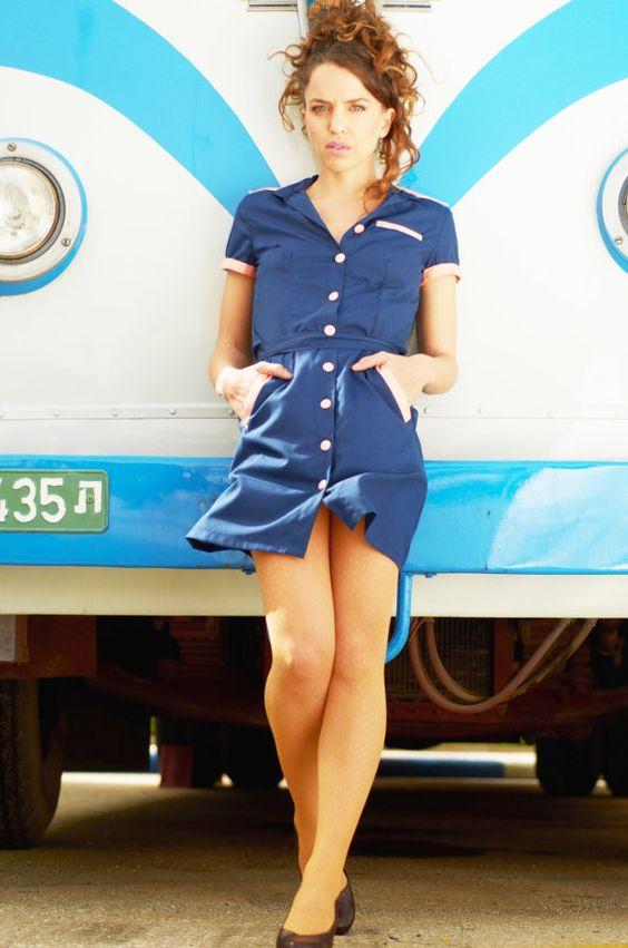 Retro Waitress Uniform 81