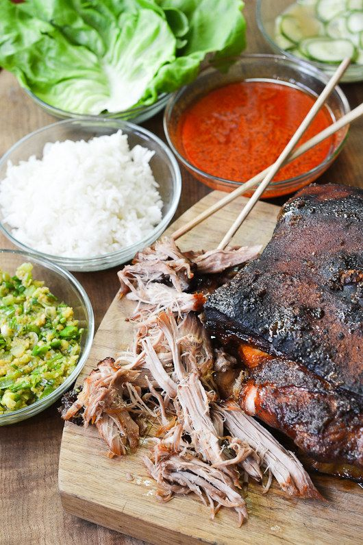 Bo Ssam (Asian Slow-Cooked Pork Shoulder) | 19 Great Ideas For Big Summer Food Parties