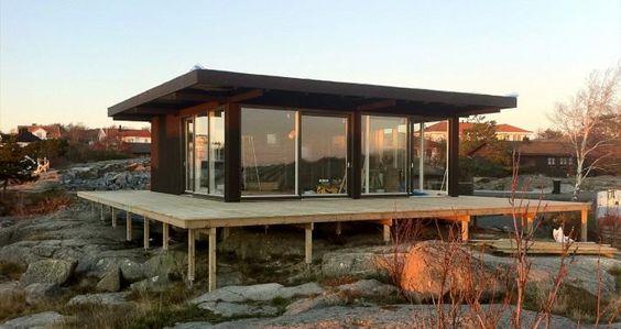 Ny arkitektur i Göteborgs skärgård   Sommarnöjen