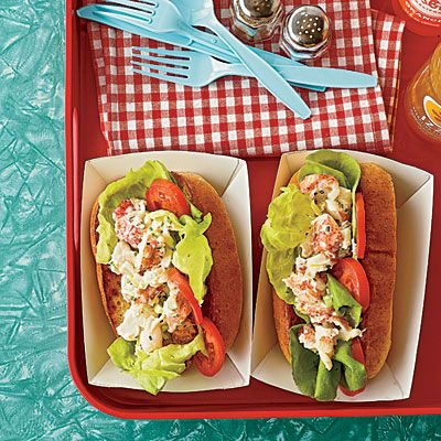 A low-fat lobster recipe from @Southern Living