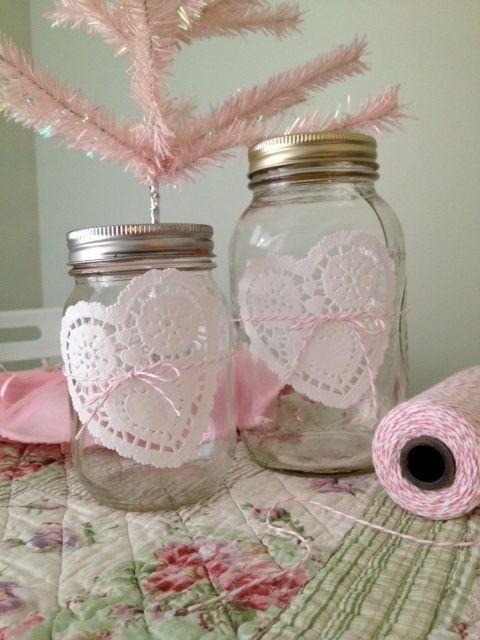 Coisas da Lívia: Doilies na decoração de casamento...