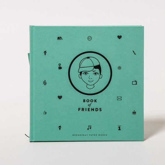 Freundesbuch (Junge). Yo