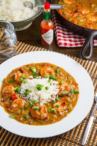 Shrimp Etouffee ~ I do believe this is what I made for Kim Panoff when I was 6-7 months pregnant & the poor girl came over & thought we were going out clubbing!: