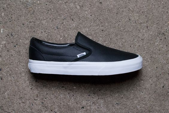 Vans Slip-On Perforated leather