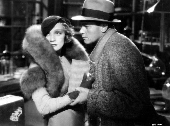 Marlene Dietrich, Herbert Marshall– Blonde Venus,1932