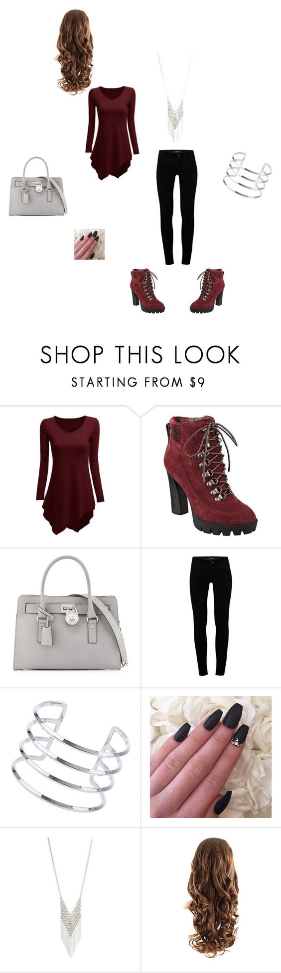 """Something to Create"" by taviaaaaa on Polyvore featuring Nine West, MICHAEL Michael Kors, J Brand, Miss Selfridge and Lane Bryant"