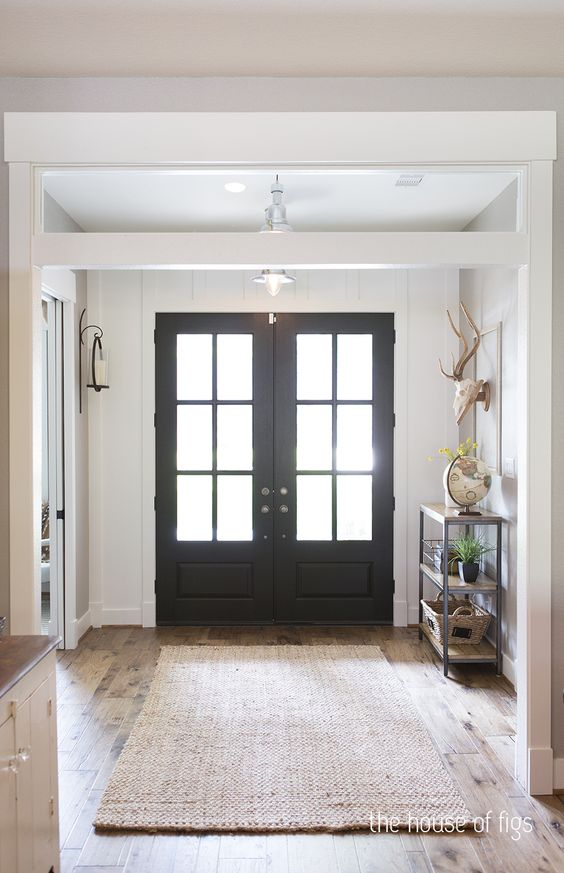 Front Foyer Closet Doors : Remove all foyers and black interiors on pinterest