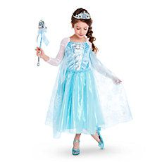 Robe Elsa  Version Originale,  Taille 5- 6 Ans.