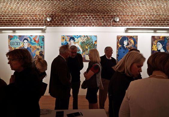 Mag Woźniak i MArcin Painta - wystawa we Francji