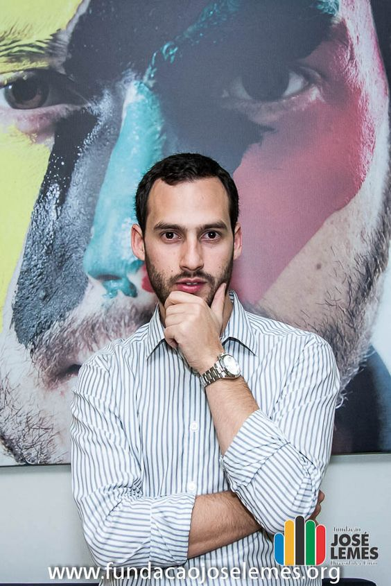 José Lemes durante coquetel de lançamento da Fundação José Lemes