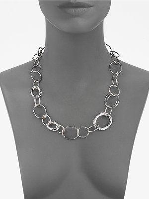 Ippolita - Sterling Silver Open Link Necklace -