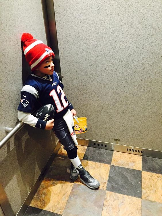 Tom Brady Halloween costume