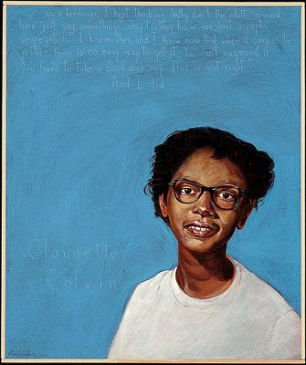 Right and i did quot claudette colvin portrait robert shetterly