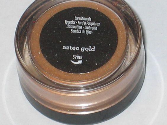 Bare escentuals eyeshadow aztec gold .28g in Health & Beauty, Makeup, Eyes | eBay