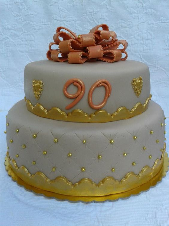 Birthday Cake Images For Grandfather : Birthday Cakes - 90th Birthday for a friend`s grandpa ...