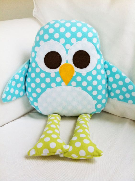 Cute Pillow Crafts : Owl Pillow Crafts Pinterest Ga ga, Inspiration and Cute penguins